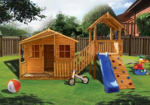 Choosing A Plastic Cubby House Over Wood Cubby House Blog