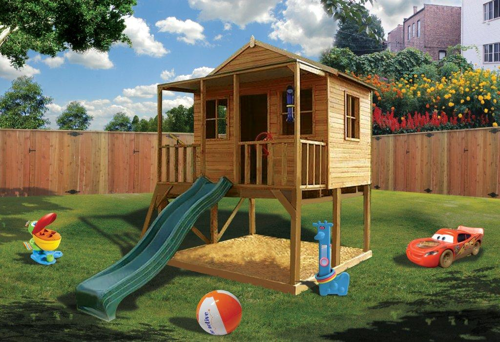 Cubby house kids gain physical strength cubby house blog for House images for kids