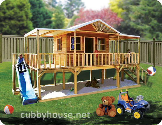 Exercise With Your Kids On A Cubby House Cubby House Blog