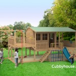 Panda-pack cubby house