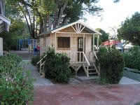 Snowgum Cubby House installed at Nedlands Primary School