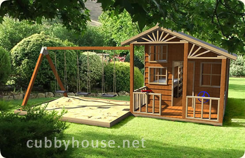 Alpine Swing Gym Cubby House, cubby house australia, cubby houses for sale, cubby houses