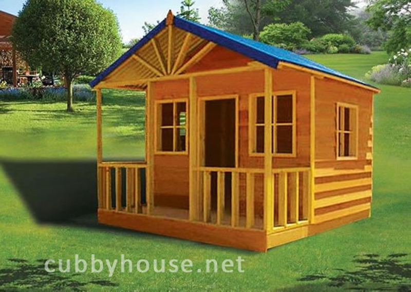 how to build cubby house windows