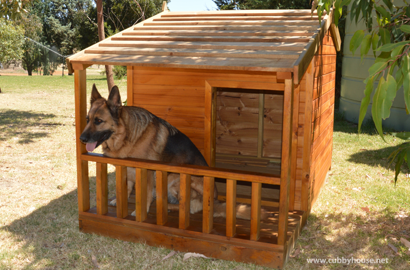Large Colorbond Dog Kennel