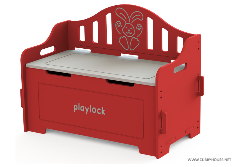 Red Toy chest