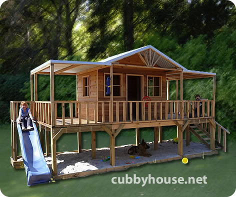 White boat complete free boat playhouse plans for Free playhouse blueprints
