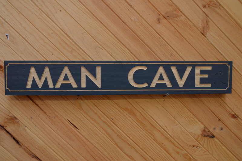 Man Cave Rustic Signs : Free beer tomorrow sign hanging wooden rustic